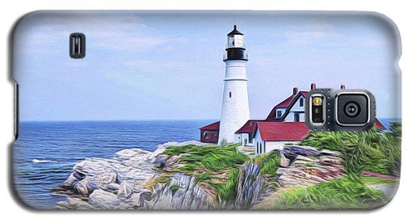 Portland Head Lighthouse Galaxy S5 Case
