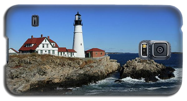 Portland Head Lighthouse Galaxy S5 Case by Lou Ford