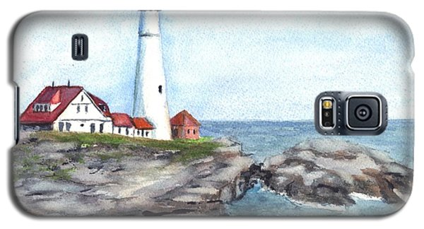 Portland Head Lighthouse Maine Usa Galaxy S5 Case