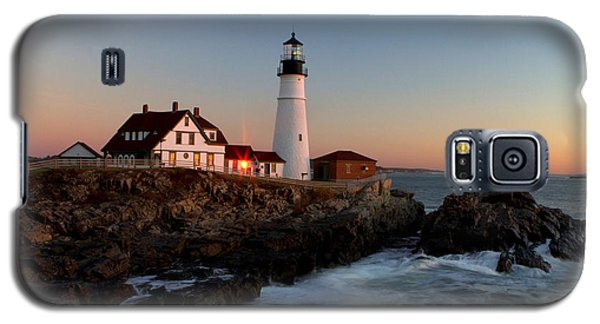 Portland Head Lighthouse Sunrise Galaxy S5 Case