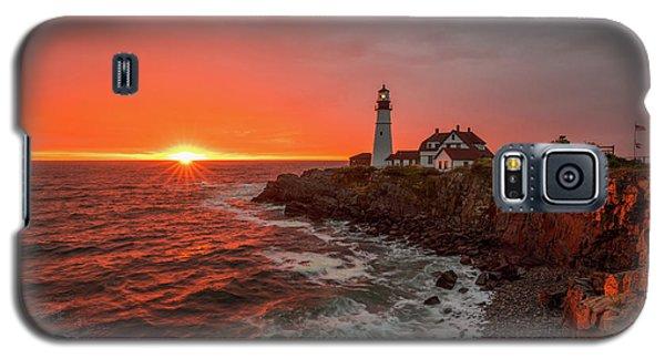 Portland Head Sunrise Galaxy S5 Case