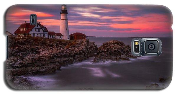 Portland Head Sunset Galaxy S5 Case