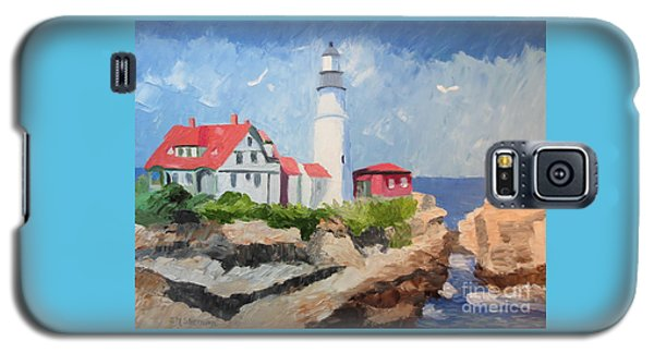 Portland Headlight By The Sea Galaxy S5 Case