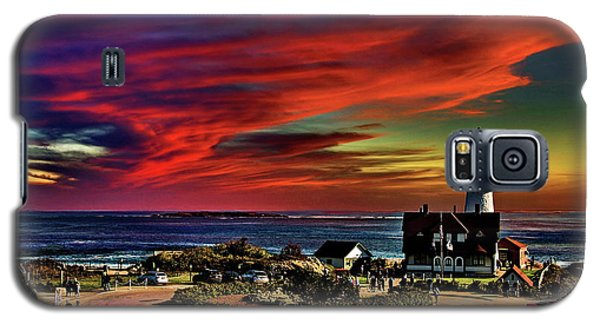 Portland Headlight Lighthouse At Sunset, Maine Galaxy S5 Case