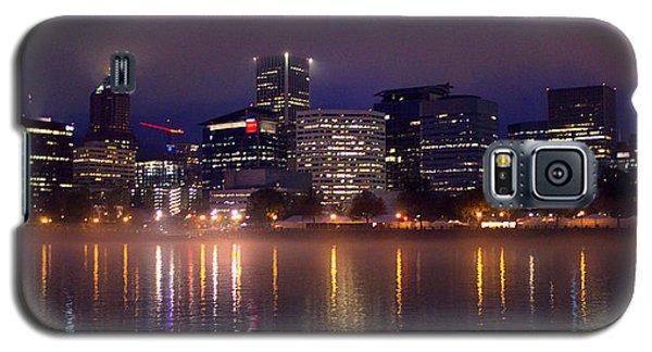 Portland Night Skyline Galaxy S5 Case by Joseph Skompski