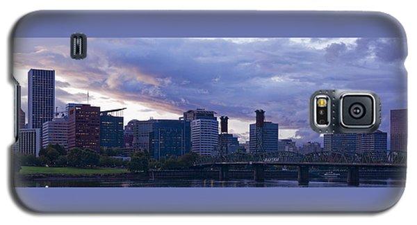 Galaxy S5 Case featuring the photograph Portland Oregon Panorama by Jonathan Davison