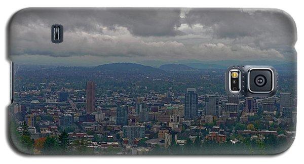 Galaxy S5 Case featuring the photograph Portland Overlook by Jonathan Davison