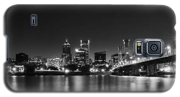 Galaxy S5 Case featuring the photograph Portland Skyline by Don Schwartz