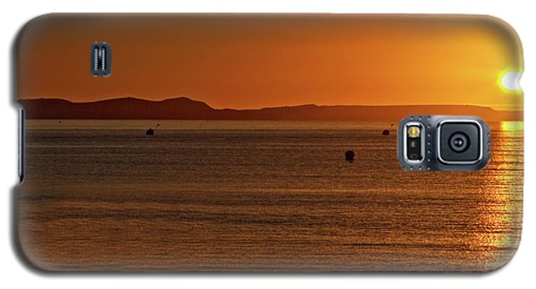 Galaxy S5 Case featuring the photograph Portland Sunrise by Baggieoldboy