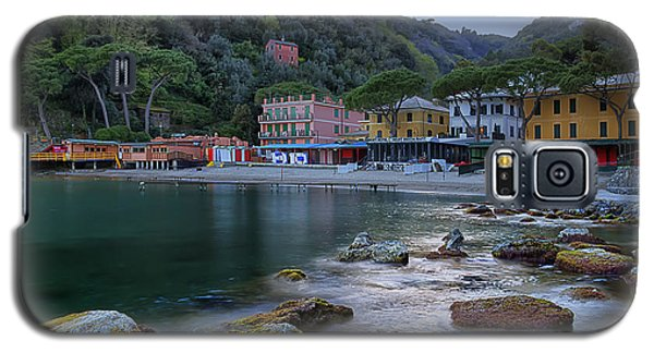 Portofino Mills Valley With Paraggi Bay And Beach Galaxy S5 Case