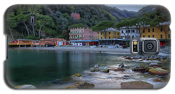 Portofino Mills Valley With Paraggi Bay And Beach Galaxy S5 Case