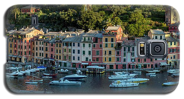 Galaxy S5 Case featuring the photograph Portofino Morning Panoramic II by Brian Jannsen