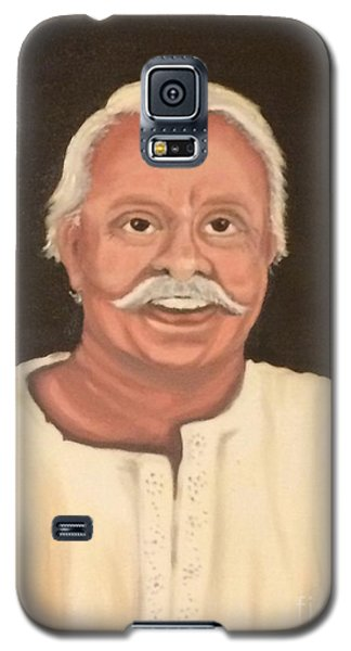 Galaxy S5 Case featuring the painting Portrait 2 by Brindha Naveen