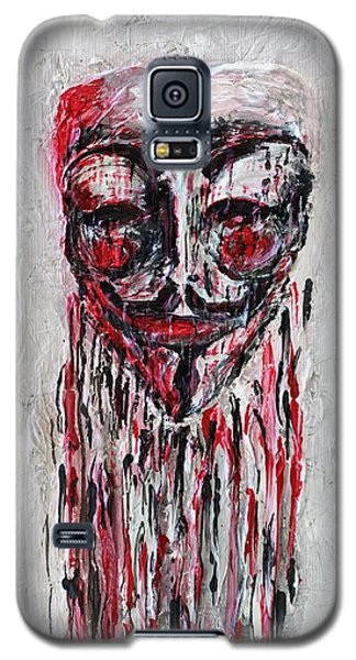 Portrait Melting Of Anonymous Mask Chan Wikileak Occupy Guy Fawkes Sopa Mpaa Pirate Lulz Reddit Galaxy S5 Case
