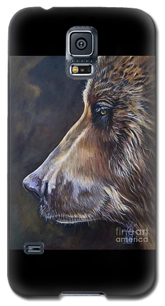 Portrait Of A Bear Galaxy S5 Case
