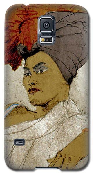 Portrait Of A Caribbean Beauty Galaxy S5 Case