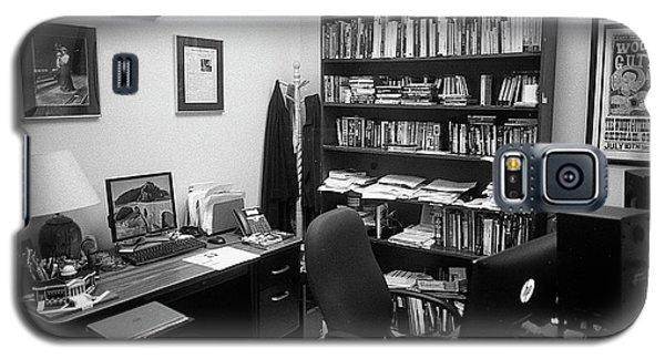 Portrait Of A Film/tv Professor's Office Galaxy S5 Case