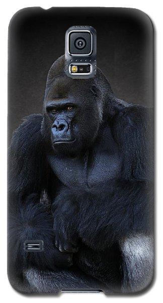 Portrait Of A Male Gorilla Galaxy S5 Case