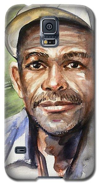 Portrait Of A Man Galaxy S5 Case