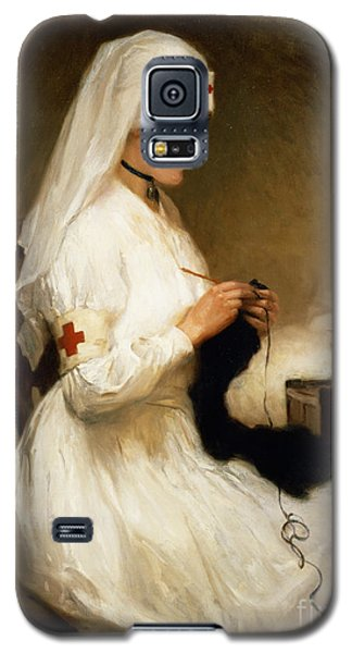 Portrait Of A Nurse From The Red Cross Galaxy S5 Case