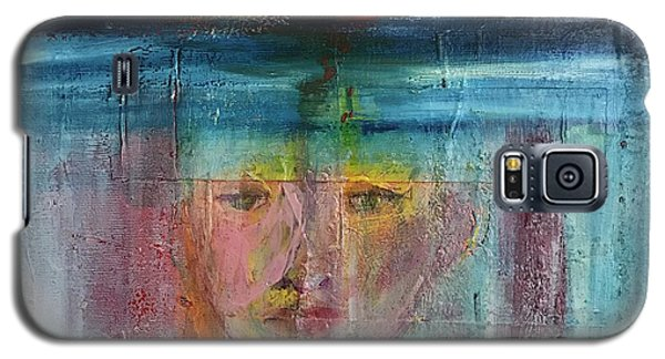 Portrait Of A Refugee Galaxy S5 Case by Kim Nelson