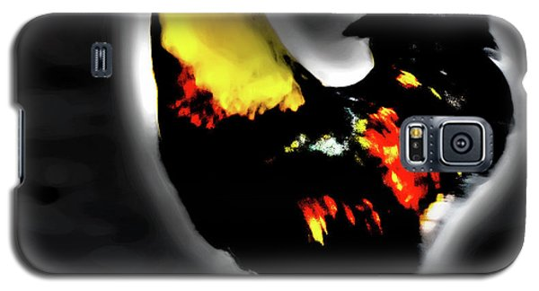 Portrait Of A Rooster Galaxy S5 Case