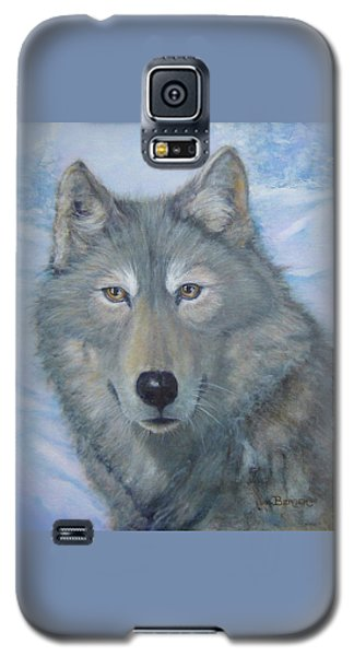 Portrait Of A Wolf Galaxy S5 Case