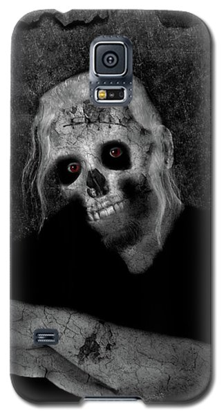 Portrait Of A Zombie Galaxy S5 Case