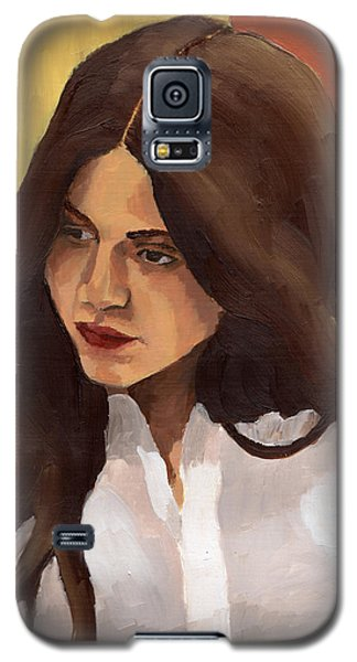 Portrait Of Amelia Galaxy S5 Case
