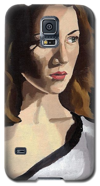 Portrait Of Becca Galaxy S5 Case
