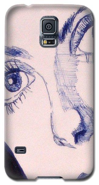 Portrait Of Catherine Close Up Details Galaxy S5 Case