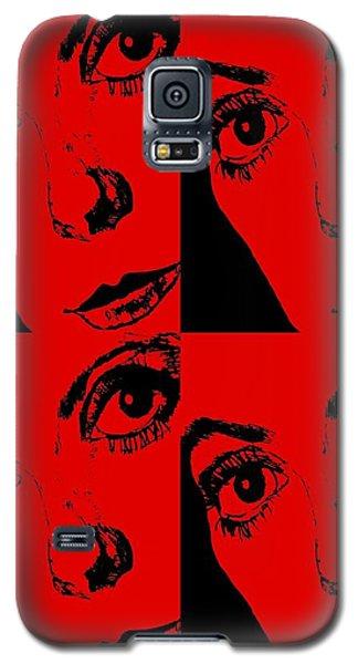 Portrait Of Catherine Pop Art Design Galaxy S5 Case