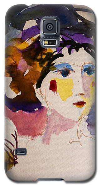 Portrait Of Joy Galaxy S5 Case