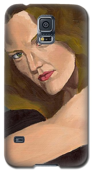 Portrait Of Kathy Arvidson Galaxy S5 Case