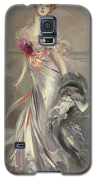 Portrait Of Marthe Regnier Galaxy S5 Case by Giovanni Boldini
