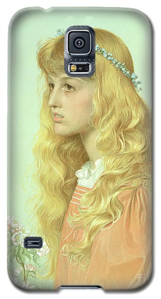 Portrait Of Miss Adele Donaldson, 1897 Galaxy S5 Case by Anthony Frederick Augustus Sandys