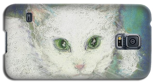Galaxy S5 Case featuring the drawing Portrait Of Misty by Denise Fulmer