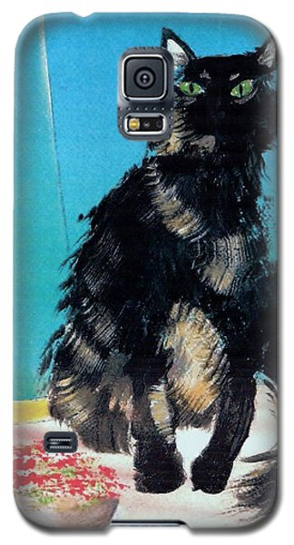 Portrait Of Muffin Galaxy S5 Case