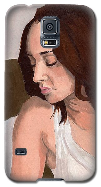 Portrait Of Nikitah Galaxy S5 Case