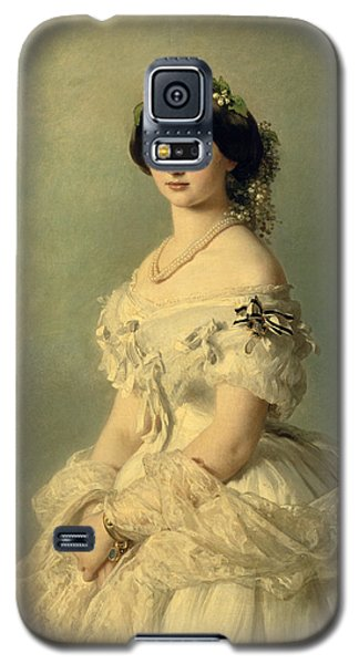 Portraits Galaxy S5 Case - Portrait Of Princess Of Baden by Franz Xaver Winterhalter