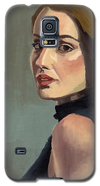 Portrait Of Rachel Christine Galaxy S5 Case