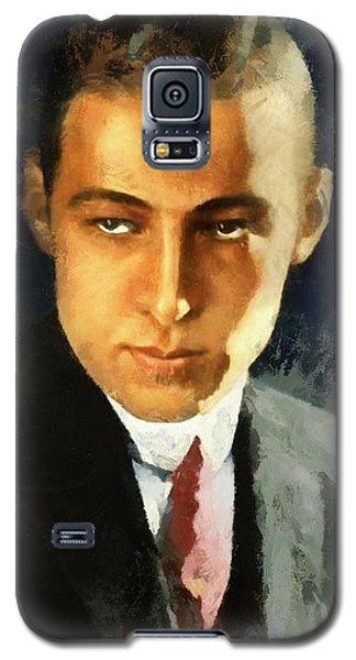 Portrait Of Rudolph Valentino Galaxy S5 Case
