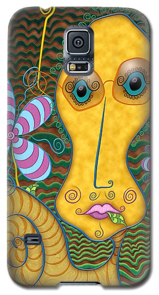 Portrait Of The Artist As A Young Snail Galaxy S5 Case