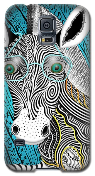 Portrait Of The Artist As A Young Zebra Galaxy S5 Case