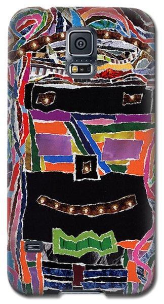 portrait of who   U  Me       or      someone U see  Galaxy S5 Case