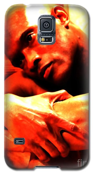 Galaxy S5 Case featuring the photograph Portrait Of Will by Robert D McBain