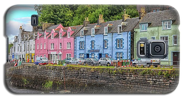 Portree Town On Skye, Scotland Galaxy S5 Case