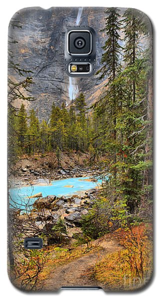 Galaxy S5 Case featuring the photograph Portrait Of Takakkaw Falls by Adam Jewell