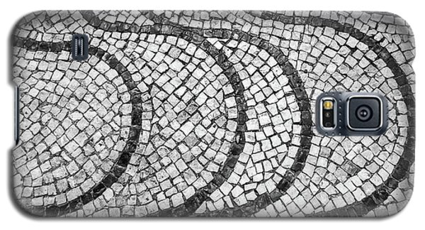 Portuguese Pavement Patterns In Cascais Galaxy S5 Case
