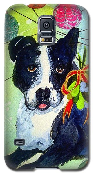Posey At Christmas 2015 Galaxy S5 Case